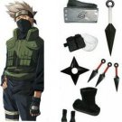 Naruto Hatake Kakashi Cosplay Costume and accessories