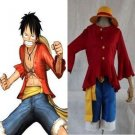 One Piece Monkey D Luffy 2nd Cosplay Costume and Hat