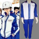 The Prince of Tennis Seigaku Winter Wear Echizen Ryoma Cosplay Costume And Hat