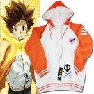 Hitman Reborn Sawada Tsunayoshi sweater Cosplay Costume