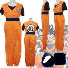 Dragon Ball Son Goku Kakarotto Satori Cosplay Costume