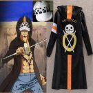 One Piece Trafalgar Law 3rd Cosplay Costume Cloak And Hat