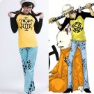 One Piece Trafalgar Law Cosplay Costume And Hat