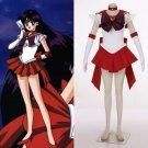 Sailor Moon Sailor Mars Hino Rei Cosplay Costume
