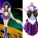 Sailor Moon Sailor Saturn Tomoe Hotaru Cosplay Costume
