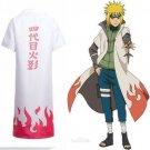 Naruto Cosplay Yondaime 4th Hokage Namikaze Minato Costume Cloak