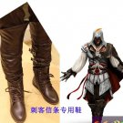Assassin's Creed III Cosplay Ezio Auditore da Firenze Shoes