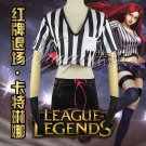 League of Legends LOL Katarina Du Couteau the Sinister Blade Cosplay Costume