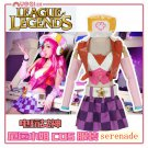 League of Legends LOL Miss Fortune the Bounty Hunter Cosplay Costume