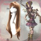 League of Legends LOL Caitlyn the Sheriff of Piltover Cosplay wig