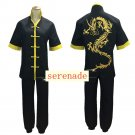 League of Legends LOL Lee Sin the Blind Monk Black Cosplay Costume