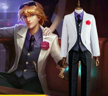 League of Legends LOL Ezreal the Prodigal Explorer Cosplay Costume