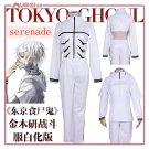 Tokyo Ghoul Kaneziki kaneki ken White Cosplay Costume