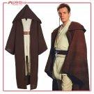 Star Wars Jedi Knight Brown Cosplay Costume