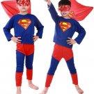 Action Comics Superman Halloween Child's Cosplay Costume
