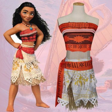 The Walt Disney Company Moana Cosplay Costume