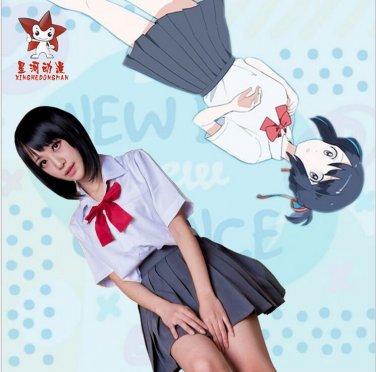 Your Name Miyamizu Mitsuha School Uniforms Cosplay Costume