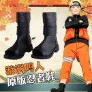 Naruto Uzumaki Naruto Leather Cosplay Shoes