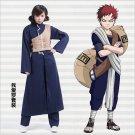 Naruto Sabaku no Gaara Second Blue Cosplay Costume