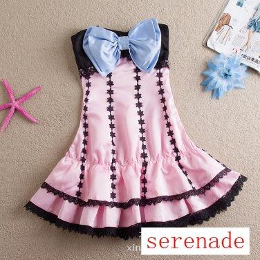 Vocaloid Hatsune Miku Project Diva Pink Skirt Cosplay Costume