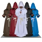 Middle Ages Medieval Vintage Menswear Friar Wizard clothes clerical dress Monastic Costume