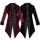 Middle Ages Medieval Vintage Menswear Punk swallowtail Cosplay Costume