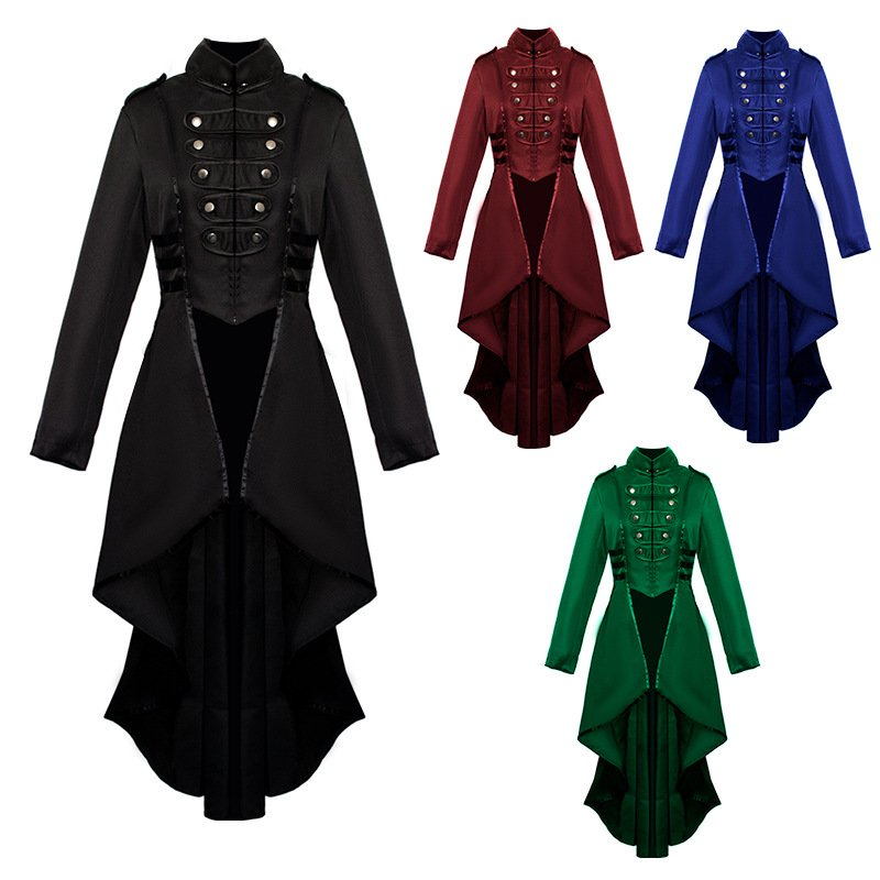 Middle Ages Women's swallowtail Cosplay Costume