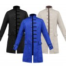 Middle Ages Medieval Vintage Menswear Steampunk Cosplay Uniform