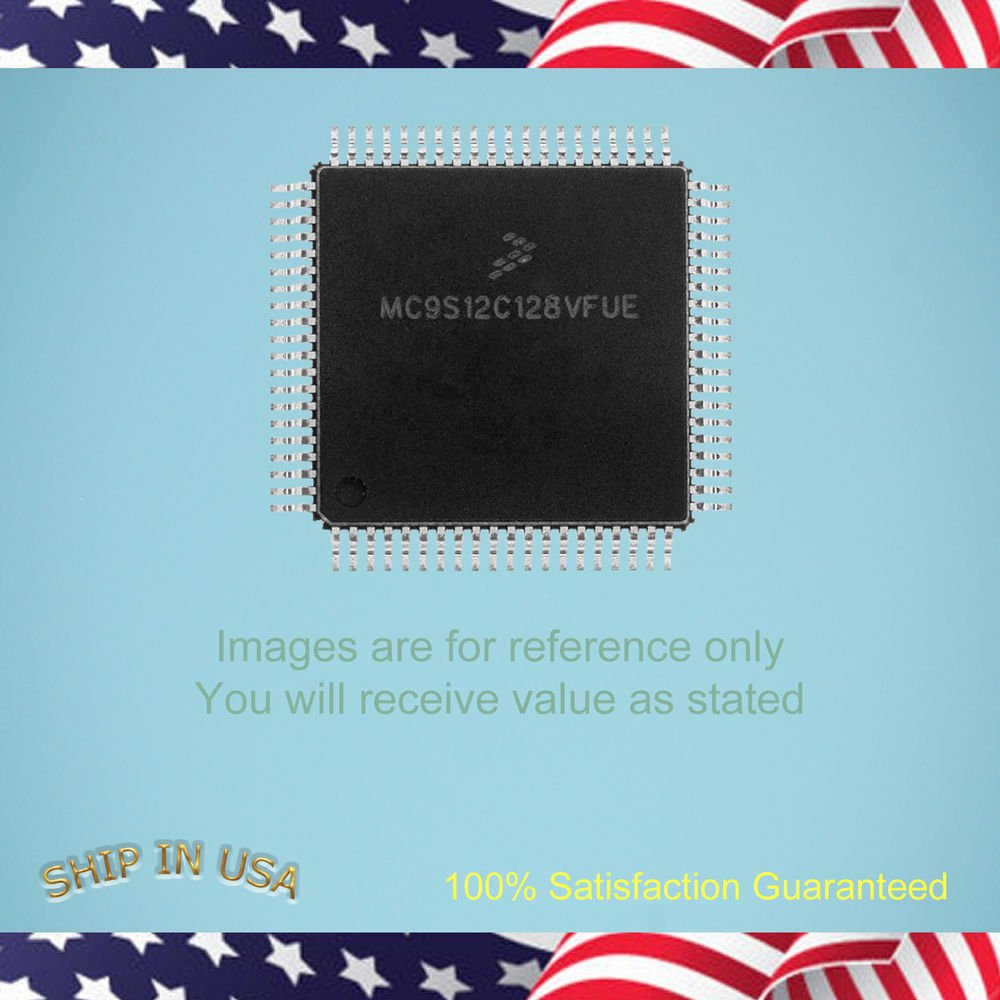 1 pcs - FRESSCAL HIGH PERFORMANCE 16-BIT MICROCONTROLLERS MC9S12XA256CAL (E355)