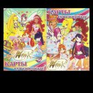 WINX CLUB COLLECTION RUSSIAN LANGUAGE CHILDRENS PACK OF PLAYING CARDS