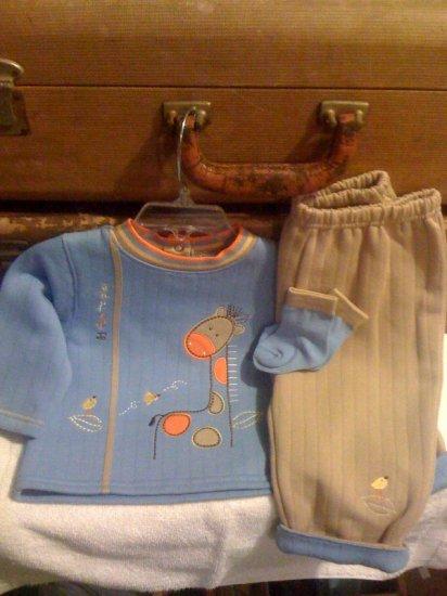 Baby boy 3pc size 6-9 months