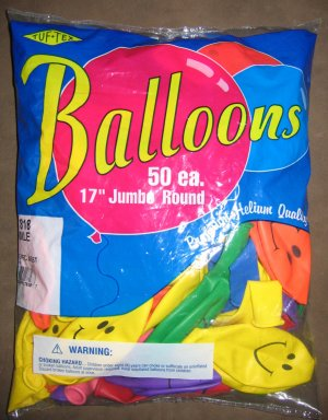 Happy Face Balloons 50 ct./bag