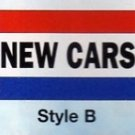 NEW CAR Nylon Flag