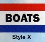 BOATS Nylon Flag