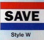 SAVE Nylon Flag