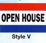 OPEN HOUSE Nylon Flag