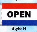 OPEN Nylon Flag
