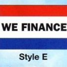 WE FINANCE Nylon Flag