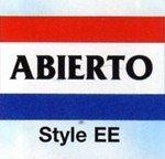 ABIERTO Nylon Flag