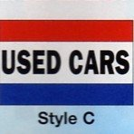 USED CAR Nylon Flag