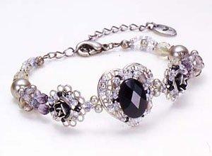 TOHO Elegant Jewelry Kit Black Agate Bracelet