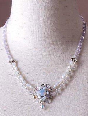 TOHO Elegant Jewelry Kit Glass Stone Necklace