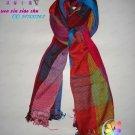 (Free shipping&sales promotion)Handmade beautiful dual-use shawl(from Yunnan China)