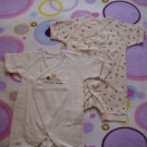 (Free shipping)Lovely unisex newborn short sleeve romper/sleep suit(bee)