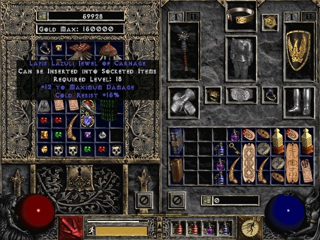 Lapis Lazuli Jewel of Carnage