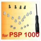 19 Screws Full Set + Screw Driver for SONY PSP 1000