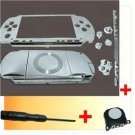 PSP 1000 Housing Faceplate Shell Case Parts +Joystick