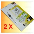 2 X Screen Protector for Nintendo DS NDS Lite NDSL
