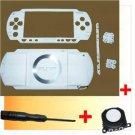 PSP 1000 Full Housing Faceplate Shell Case +Joystick W