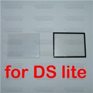LCD Screen Lens Cover Black White Nintendo DS NDS Lite